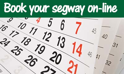Book your segway on-line