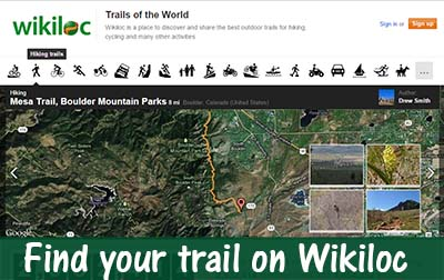 Find your trail on wikiloc